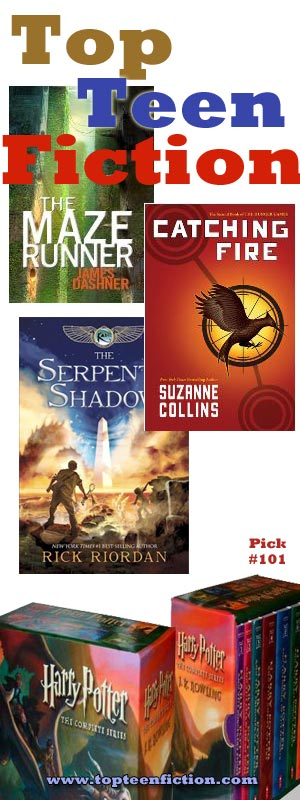 Top teen fiction book pick 101 includes fantasy fiction novels by